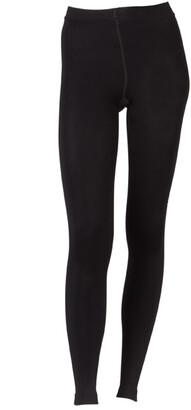 Ambra Fleece Legging Amtrackleg Black
