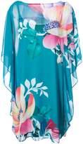 Trina Turk floral mini shift dress