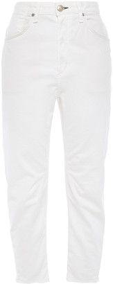 Rag & Bone Cropped Cotton-blend Twill Tapered Pants