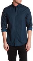 Ben Sherman Micro-Geo Long Sleeve Regular Fit Shirt