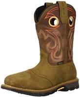 "Irish Setter Work Women's Marshall Waterproof Steel Toe 9"" Pull On Boot,8.5 B US"