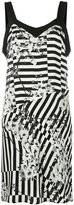 Paul & Joe striped floral dress - women - Silk/Polyester - 40