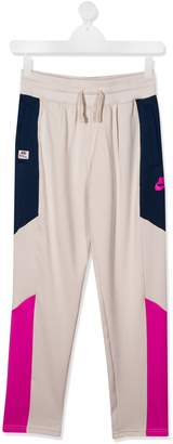 Nike TEEN color-block track pants