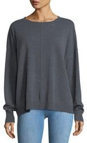 Current/Elliott The Destroyed Knit Crewneck Pullover Sweater