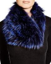 Badgley Mischka Fox Fur Infinity Scarf