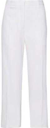 Jil Sander Cropped Wool-blend Straight-leg Pants