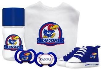 NCAA University of Kansas 5-Piece Baby Gift Set