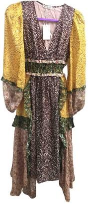 Ulla Johnson Yellow Silk Dresses