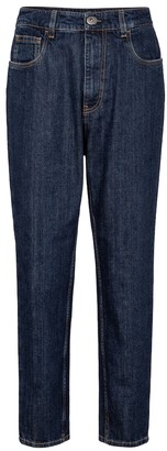 Prada High-rise slim jeans