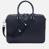 Aspinal of London Mount Street Small Briefcase - Navy