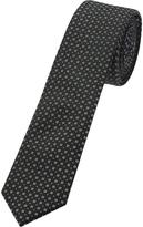 Oxford Tie Cotton Printed Black