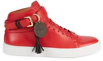 Buscemi Tasseled Leather Sneakers