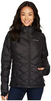Columbia Heavenly Hooded Jacket (Black) Women's Coat