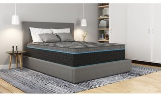 "14"" Firm Hybrid Mattress White Noise Mattress Size: Queen"
