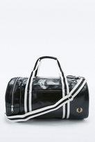 Fred Perry Classic Black Barrel Bag