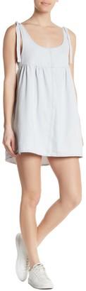 Cotton On Denim Babydoll Pinafore Mini Dress