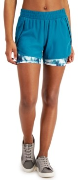 Ideology Layered Running Shorts, Created for Macy's