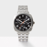 Paul Smith Men's Black And Silver 'Atomic' Watch
