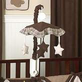 JoJo Designs Chocolate Teddy Bear Musical Baby Crib Mobile by Sweet