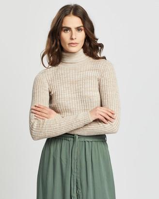 Vero Moda Jennifer LS High Neck Knit