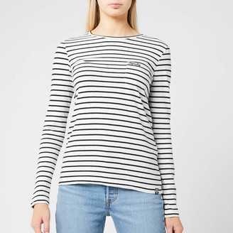 Superdry Women's Ol Essential Long Sleeve Top