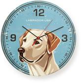 Labrador USA Round Clock