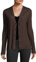 Rag & Bone Halsey Button-Front Ribbed Cardigan