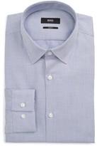 BOSS Men's Isko Slim Fit Print Dress Shirt