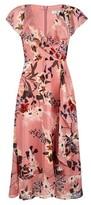 Dorothy Perkins Womens **Billie & Blossom Tall Pink Floral Print Wrap Dress, Pink