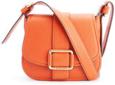 MICHAEL Michael Kors Women's Maxine Mid Saddle Bag Orange