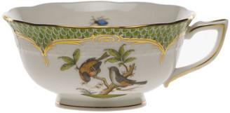 Herend Rothschild Bird Green Motif 12 Tea Cup