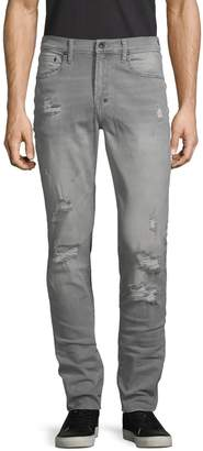 PRPS Distressed Slim Tapered Jeans