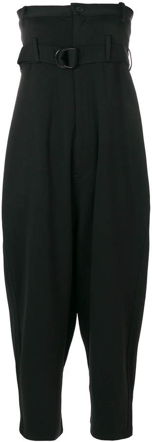 Y-3 high-waisted trouser jumpsuit