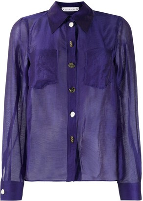 REJINA PYO Remi sheer shirt