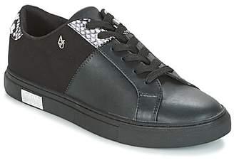 Armani Jeans GERMIS women's Shoes (Trainers) in Black