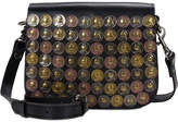 Patricia Nash Studded Coin Rivoli Small Flap Crossbody
