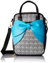 Betsey Johnson Lunch Tote Bow Chow Bella