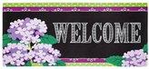 Evergreen Switch Mat-Hydrangea Beauty Welcome