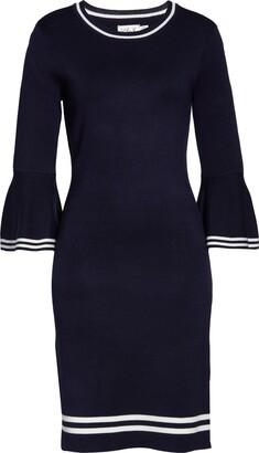 Brinker & Eliza Bell Sleeve Sweater Dress