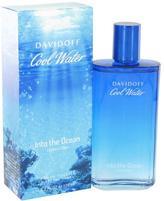 Davidoff Cool Water Into The Ocean Eau De Toilette Spray for Men (4.2 oz/124 ml)