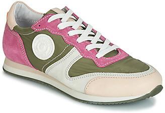 Pataugas IDOL/MIX women's Shoes (Trainers) in Kaki