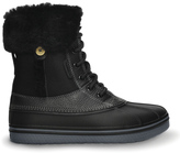 Crocs Black & Charcoal AllCast Luxe Duck Boot - Women