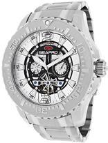 Seapro SP3310 Men's Tidal PX1 Silver Stainless Steel Watch