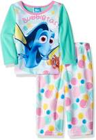 "Disney Finding Dory Baby Girls' ""Fish Are Friends"" 2-Piece Pajamas"