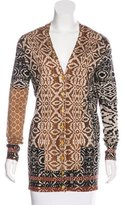 Etro Abstract Print Cardigan