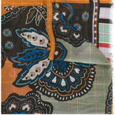 Etro frayed edge scarf - men - Modal - One Size