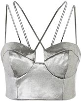 Topshop Strappy Cropped Bralet
