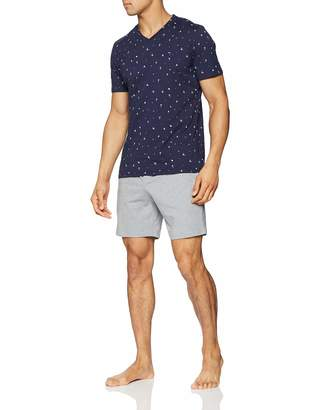 Hom Men's Brando Short Sleepwear Pyjama Set