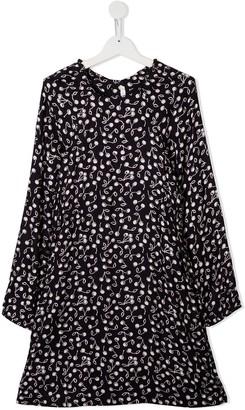 Bonpoint TEEN cherry-print dress
