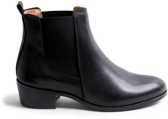 Steve Madden Dover Black Leather